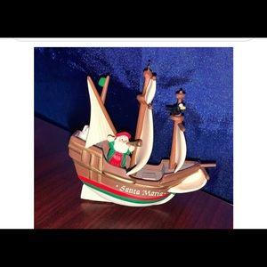 Vintage (1992) Hallmark Keepsake Santa Maria